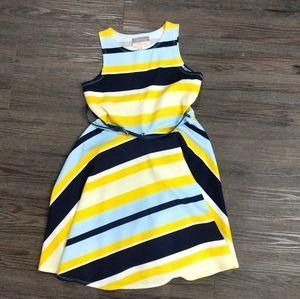 Pippa & Julie Girls Striped Dress | 10